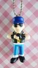 【震撼精品百貨】日本精品百貨-手機吊飾/鎖圈-格鬥系列-手機吊飾-墨鏡