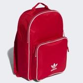 adidas 後背包 Originals Classic BackPack 紅 白 三葉草 男女款 【ACS】 CW0636
