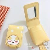 零錢包卡包女日韓卡通可愛波點口紅包化補妝包包【小酒窩服飾】