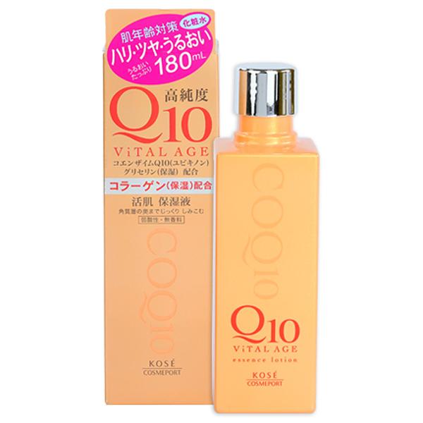 Kose高絲 Vital Age Q10酵素緊緻活膚美容液180ml【小三美日】