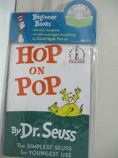 【書寶二手書T1/原文小說_DW3】Hop on Pop_Seuss, Dr./ Pierce