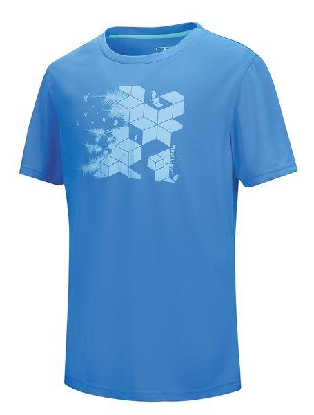 【山水網路商城】山林休閒 Mountneer 新款 男透氣排汗上衣/吸濕排汗/排汗衣 21P35-80 藍