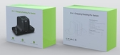 [哈GAME族]免運費 可刷卡 新得利 NS03 Switch 六合一主機充電座 JOY-CON 主機 PRO手把 充電一次滿足