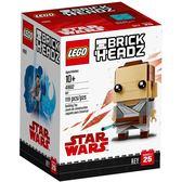 【LEGO 樂高積木】 Brickheadz積木人偶系列-Rey芮 LT-41602