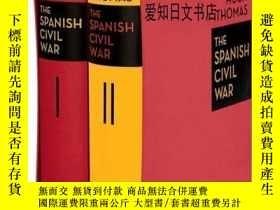 二手書博民逛書店【罕見】The Spanish Civil WarY175576 Hugh Thomas folio soci