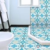 衛生間地貼防滑防水耐磨浴室廁所地面裝飾翻新地板貼自粘瓷磚貼紙 Korea時尚記