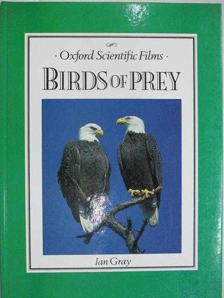 【書寶二手書T1/動植物_EGM】Birds of Prey_Ian Gray