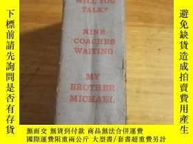二手書博民逛書店Mary罕見Stewart three novels of suspense(精裝英文原版 1956年出版)舊書老