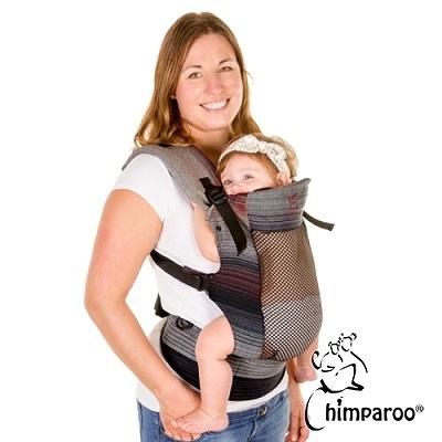 加拿大 Chimparoo Trek Air-O 透氣嬰兒揹帶 - 塗鴉灰
