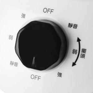 日本 FUJITEK 9吋 旋鈕式靜音擺頭循環扇 型號FT-LCF093 富士電通