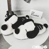 棉拖 冬季棉拖鞋女可愛卡通室內包跟冬天情侶男居家用韓版毛絨 【全館9折】