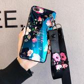 藍光蘋果x手機殼硅膠6s軟套7plus掛繩韓國潮牌iphone8plus女   居家物語