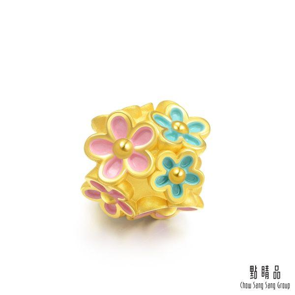 點睛品 Charme 美麗花園 黃金串珠