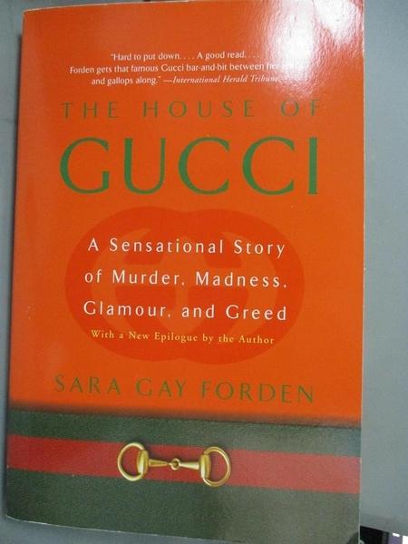 【書寶二手書T1/原文書_YDG】The House of Gucci: A Sensational Story of…