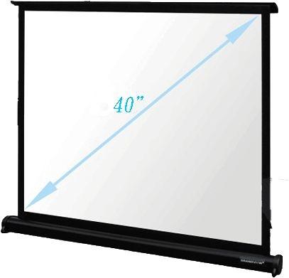 [卡瑪斯投影機銀幕]40吋4:3桌上型微型投影布幕 高質感精緻投影桌幕*桌幕全面降價優惠*含稅含運