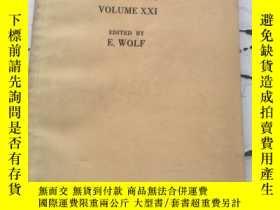 二手書博民逛書店PROGRESS罕見IN OPTICS VOLUME XXI(光學進展 第21卷)英文Y23470 E,WOL