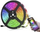 CIN【日本代購】LED防水燈條5050雙面膠帶5 m 300燈條RGB APP操作 Andorid / iOS兼容