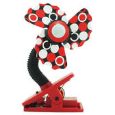 LUCKY BABY 可夾式安全電風扇/酷涼扇/安全風扇/風扇-紅