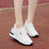 小白鞋女鞋內增高透氣百搭運動鞋