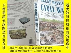 二手書博民逛書店GREAT罕見BATTLES OF THE CIVIL WAR
