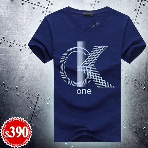 GK ONE 純棉短袖T恤(加大尺碼4XL) 潮T 情侶裝 班服 嘻哈 街舞 HIPHOP 大學T 重機 上衣 男裝