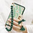 韓國 MRH 磁釦皮套 手機殼│含手繩 含墜飾│iPhone 6 6S 7 8 Plus X│z7642