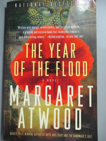 【書寶二手書T1/原文小說_JJH】The Year of the Flood_Atwood, Margaret Eleanor
