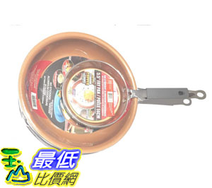 [8美國直購] 陶瓷不沾鍋 Gotham Steel 2pc 9.5吋and 5.5吋 Cooper Fry Pans B07MYNXTV6