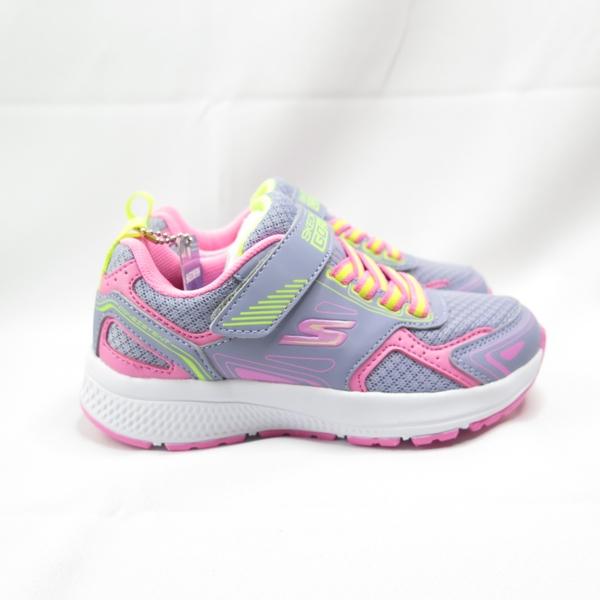 Skechers GO RUN CONSIS TENT 中童鞋 302401LGYPK 灰粉色【iSport愛運動】