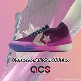 Converse 籃球鞋 All Star BB Evo 紫 藍 男鞋 React 【ACS】 170290C