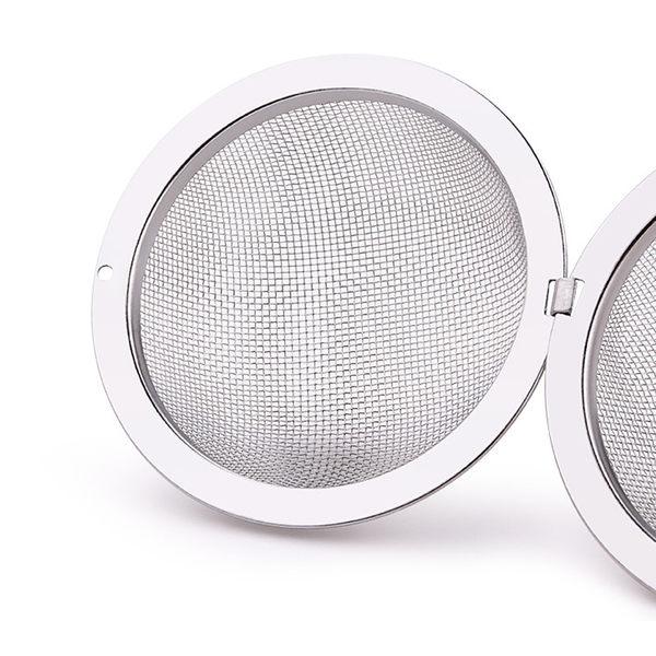 PUSH!廚房餐具用品304不銹鋼滷料煲湯茶葉過濾器調味滷包球小號2入D73