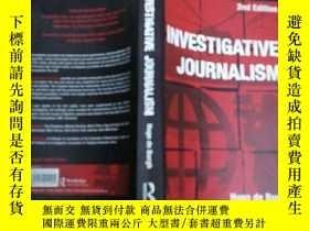 二手書博民逛書店Investigative罕見Journalism 2nd ed