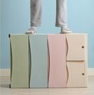 樹脂衣櫃 加厚抽屜式收納柜簡易塑料童衣柜小孩玩具儲物柜子收納箱TW【快速出貨八折搶購】