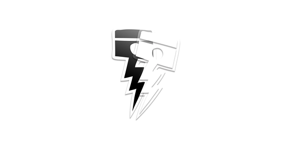 Deus Ex Machina Vinyl Sticker - Pisstin 貼紙-男/女(黑)