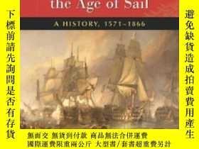 二手書博民逛書店Warfare罕見On The Mediterranean In The Age Of Sail-航海時代的地中海