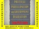 二手書博民逛書店Political罕見Participation And Government RegulationY2562