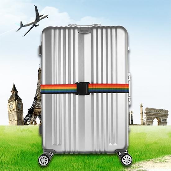 行李束帶 一字帶 行李帶 行李箱 捆箱 捆綁帶 出國 海關  防摔 加固 彩色行李束帶【B013-3】慢思行