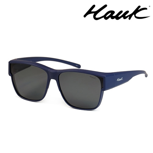 HAWK 新型薄框偏光太陽眼鏡套鏡(2用)HK1027-37