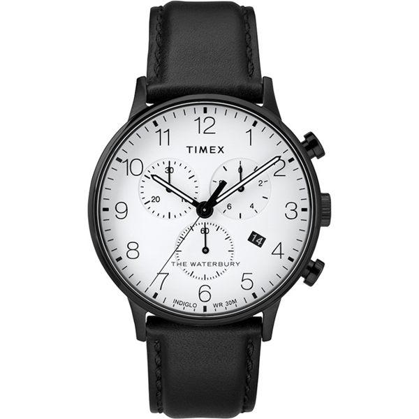 TIMEX 天美時 TXTW2R72300 三眼計時 冷光 手錶/40mm