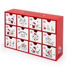 Sanrio HELLO KITTY聖誕倒數日曆樣式桌上型置物櫃★funbox★_650234