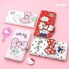 Hello Kitty 蝴蝶結 磁釦皮套...