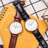 DW Daniel Wellington 瑞典簡約風格手錶 40mm/棕色/復古/0106DW/DW00100006 左款