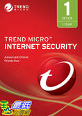[8美國直購] 暢銷軟體 Trend Micro Internet Security 2019, 1 User [Key Code] 2019