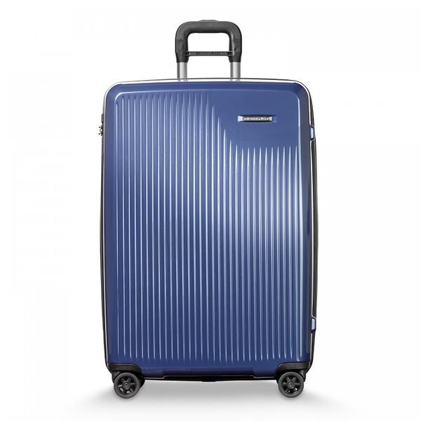 【BRIGGS & RILEY】SYMPATICO硬殼可擴充四輪行李箱30吋(藍)