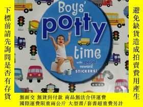 二手書博民逛書店boys罕見potty time 兒童讀物 英文版Y42402