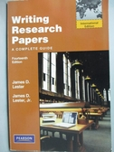 【書寶 書T6 /大學文學_ZBE 】Writing Research Papers_James D Jr Leste