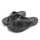 PLAYBOY 3D隱形氣墊夾腳拖鞋-黑(YT705)