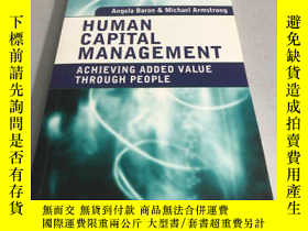 二手書博民逛書店Human罕見Capital Management: Achie