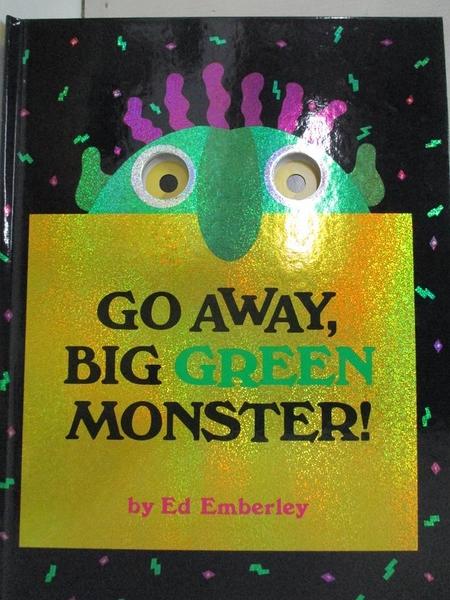【書寶二手書T1/少年童書_DMV】Go away, big green monster!_Emberley, Ed
