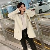 西裝外套女韓版設計感套裝西服【少女顏究院】